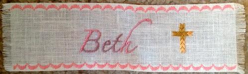 Beth Bookmark by Carmen CS