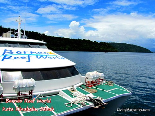 Borneo Reef World luxury ship