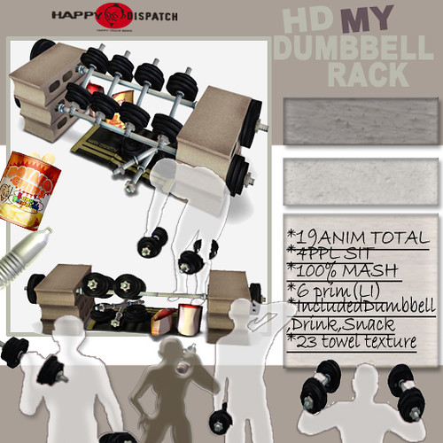 HD MY DUMBBELL RACK @MIX 50%OFF