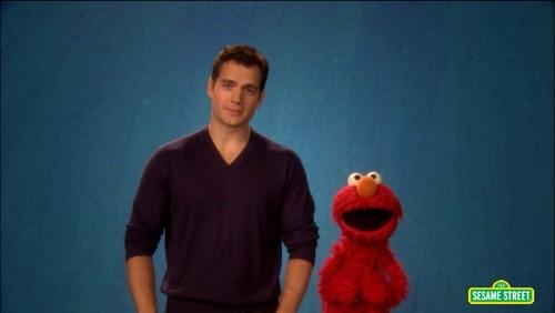 Henry on Sesame Street
