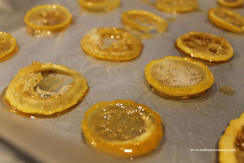 Candied Lemons at www.culinarycousins.com
