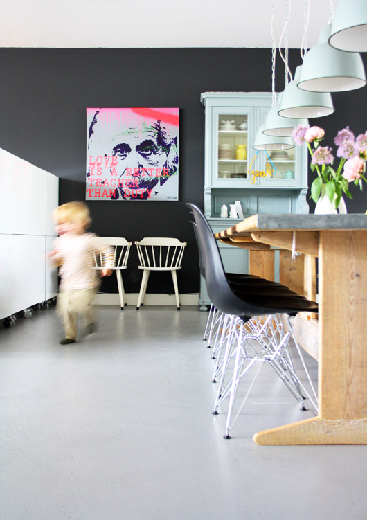 Home Tour: Funky Dutch Style