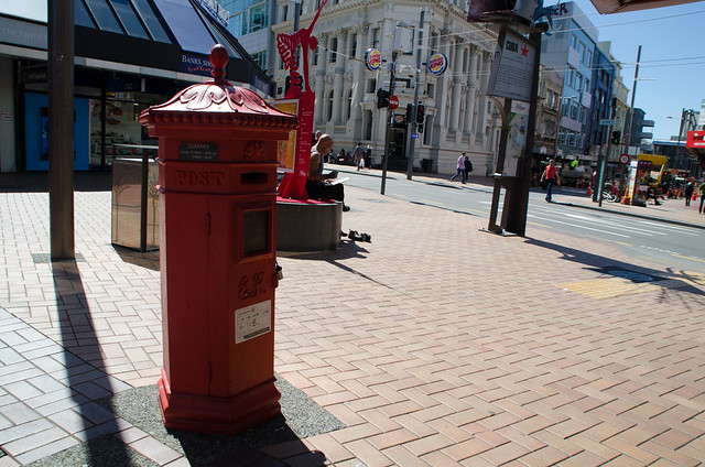 Postbox in Wellington