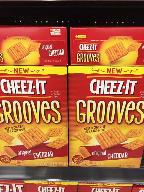 Cheez-It Original Cheddar Grooves