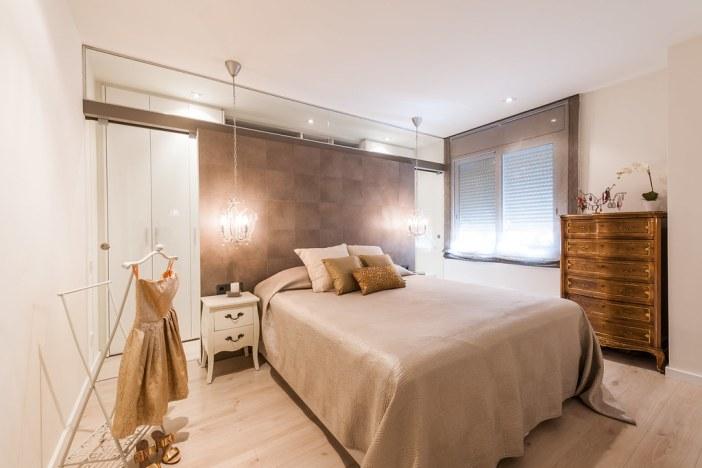 Dormitorio relajante y femenino