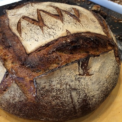 Now this is bread! Thierry DeLabre's healing journey led to levain extraordinaire. #omnivore2015