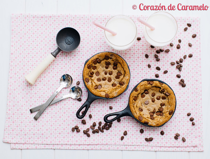 Cookies con helado