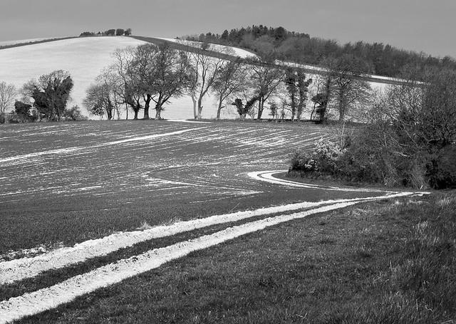 Towards Pen Hill
