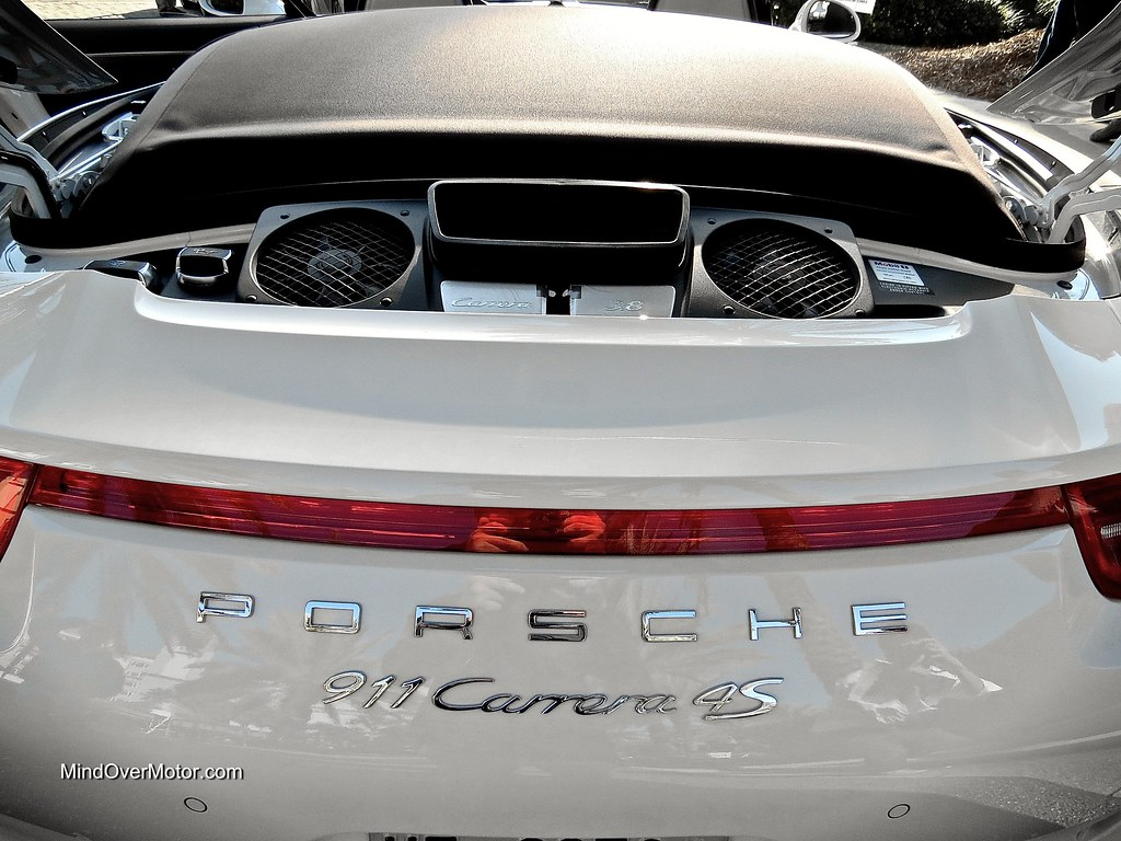 2014 Porsche 991 Carrera 4S Cabriolet