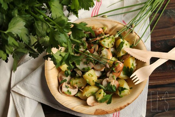 recette Salade de pomme de terre
