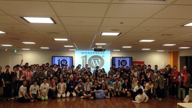 WordPress 10th Anniversary in Tokyo #wp10