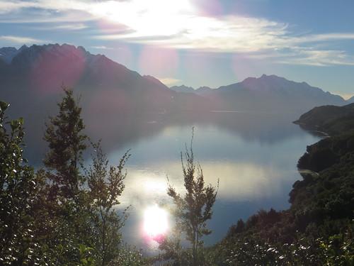 sunny lakeside