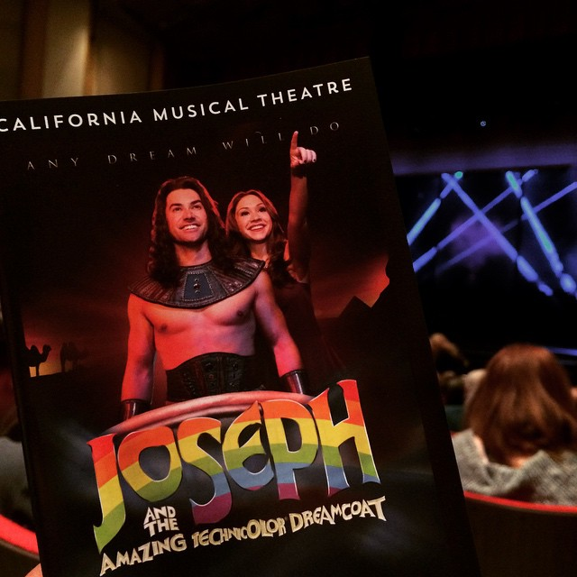 Woo! #sacmusicals #lovemusicals #JosephAndTheAmazingTechnicolorDreamcoat #JosephUSTour #OpeningNight #AceYoung #AnyDreamWillDo #DowntownSac