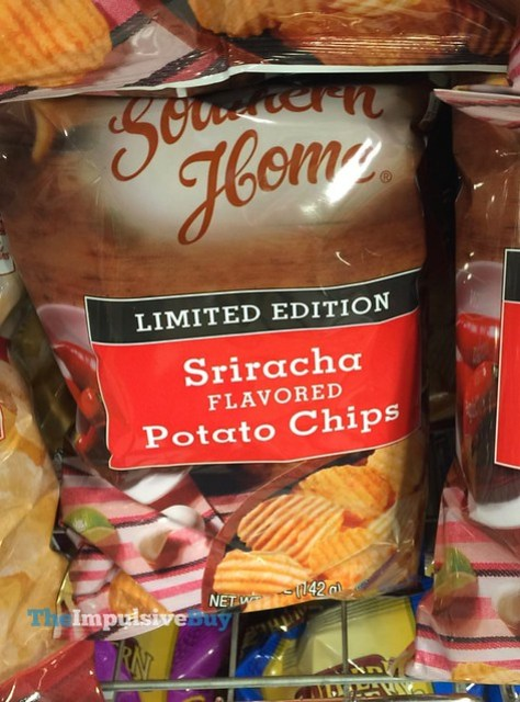 Southern Home Limited Edition Sriracha Potato Chips