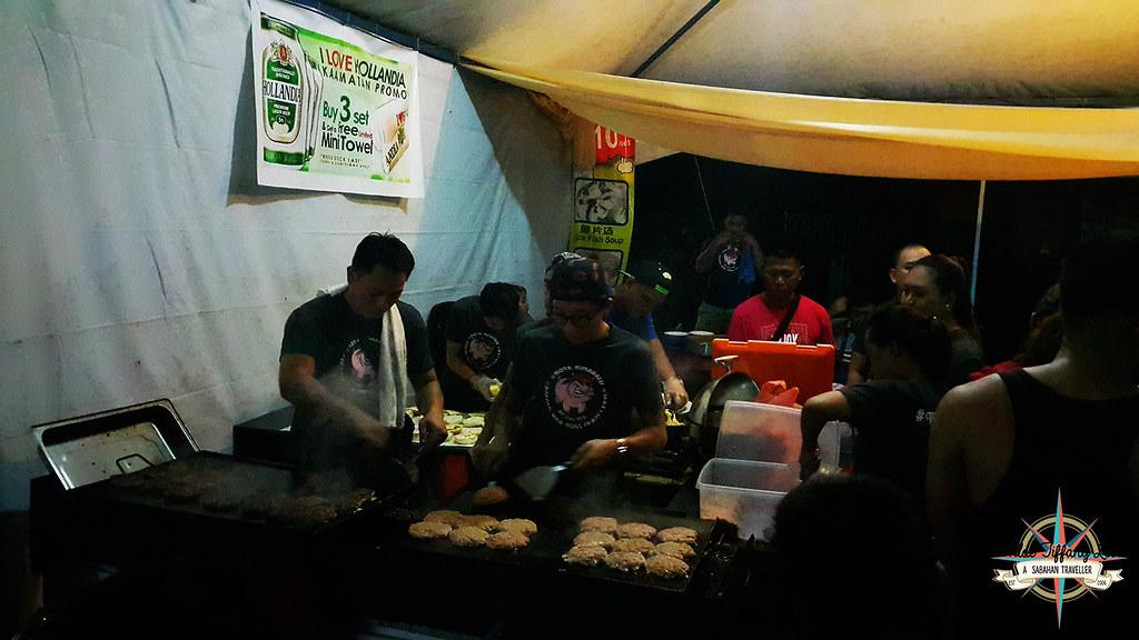 Wild hogs, Pork Burger stalls, KDCA, Kaamatan, Kota Kinabalu, Sabah, Chloe Tiffany Lee (2)