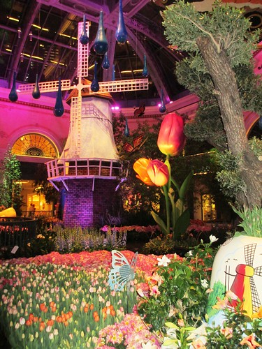 "Suppose You Can Call this ""Midnight in the Garden"", Bellagio Conservatory & Botanical Gardens, Las Vegas, April 2013"