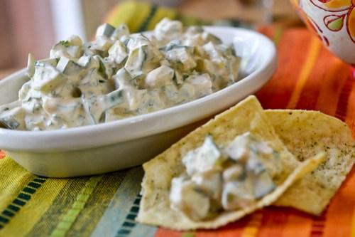 Creamy Cucumber Salsa-8