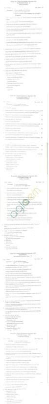 Bangalore University Question Paper September 2011 II Year M.A. Degree Examination - Macro Economics