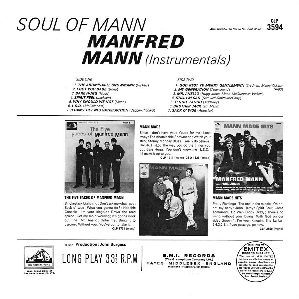 Manfred Mann - Soul of Mann