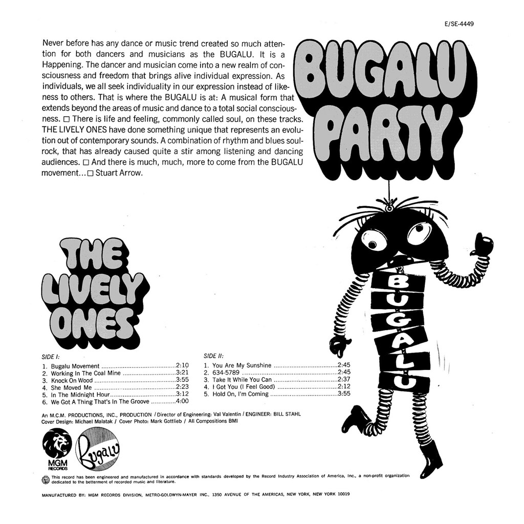 The Lively Ones - Bugalu Party