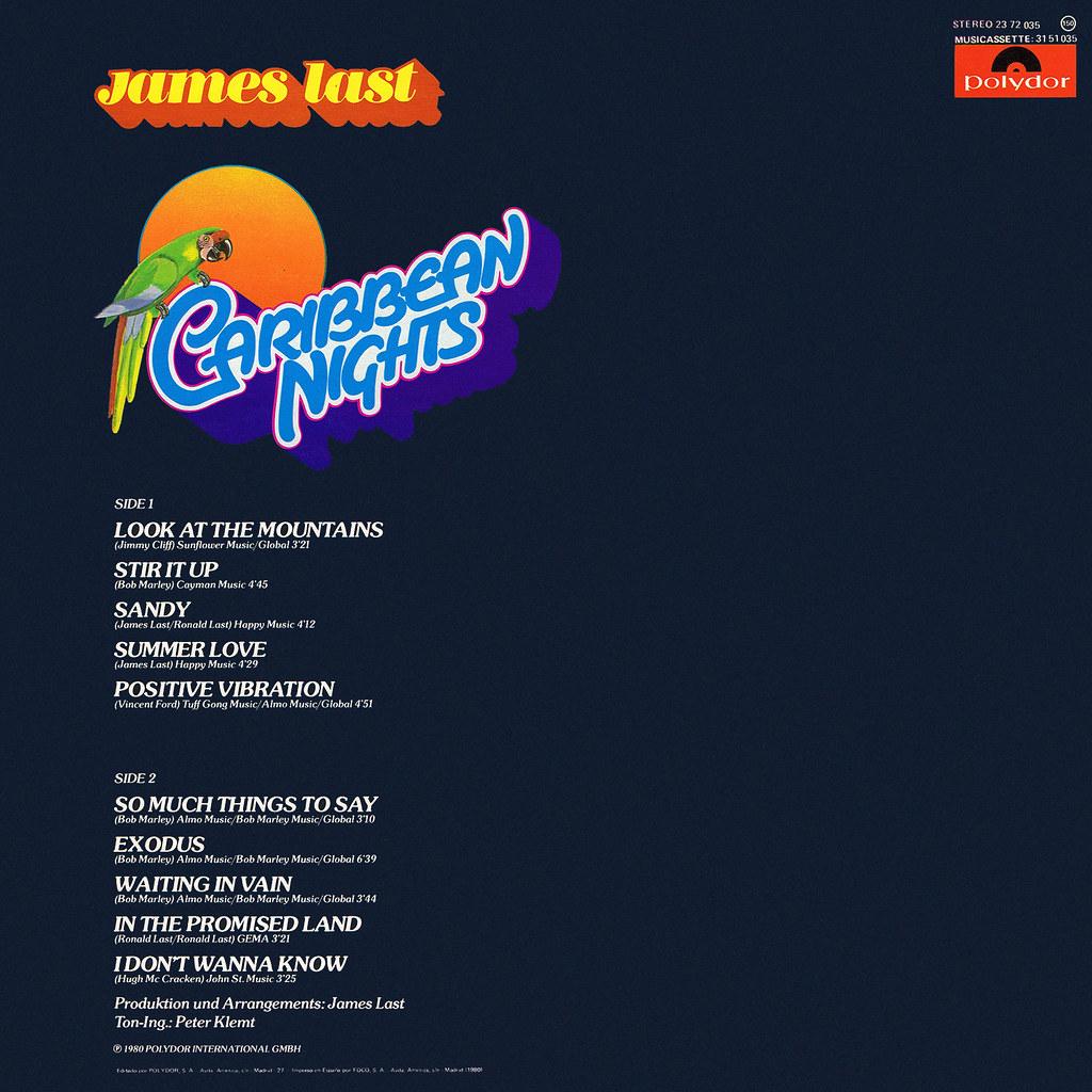 James Last - Caribbean Nights