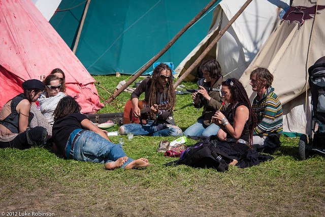 Making Music in the Tipi Field