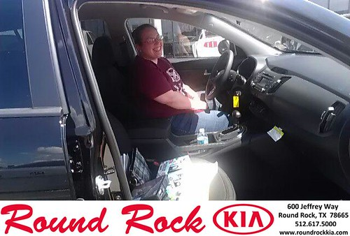 Thank you to Linda Rosas-Moreno on your new 2013 Kia Sportage from Fernando Fernandez and everyone at Round Rock Kia! by RoundRockKia