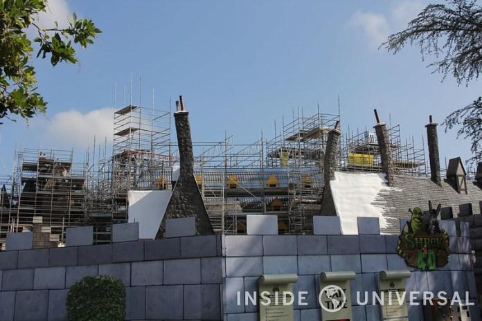 Photo Update: February 8, 2015 - Universal Studios Hollywood - Shrek 4D