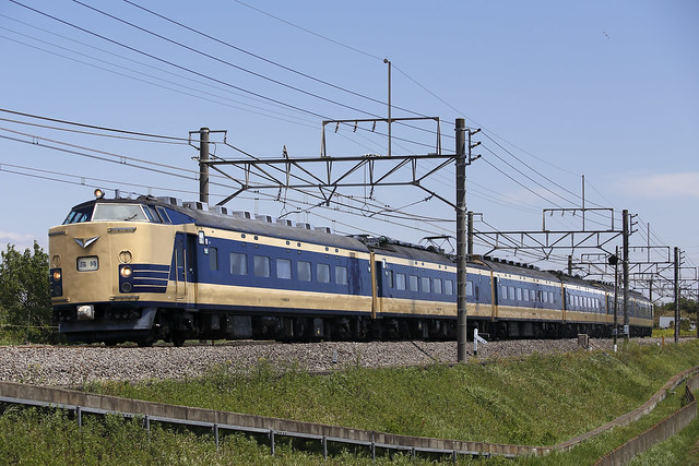 160429 Series 583 Sleeping train