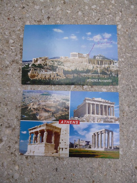 Postcards from Athens