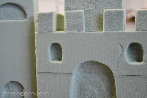 Sandcastle Centerpiece Tutorial Step 4