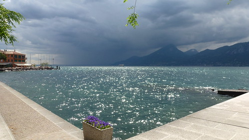 View of the lake from Castelletto