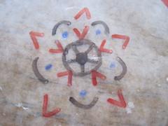Wax Paper Mandala Ex 6