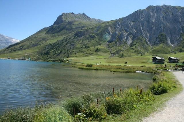 Tignes le lac 2