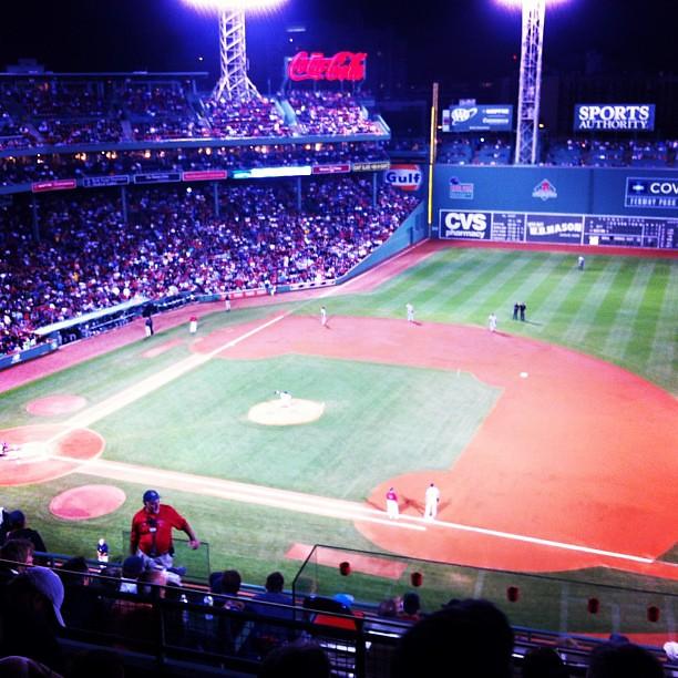 Take me out to the ball game #boston #redsox #fenway #stadium