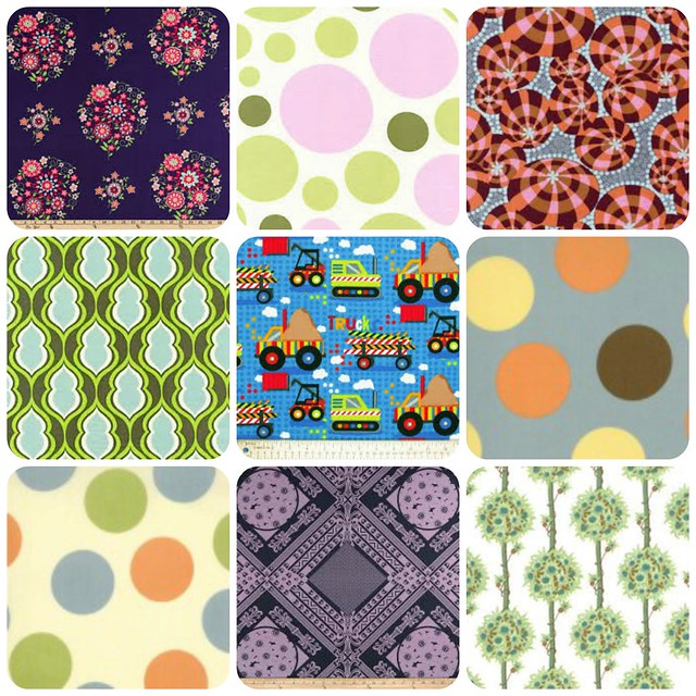 Discounted Fabrics for sale in my Etsy Shop