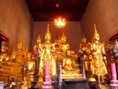 Pathum Khongkha Ratchaworawihan Interior Blurry