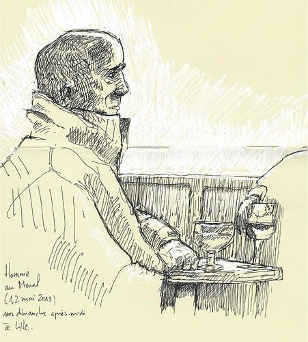 Drinker at Morel's by Mr Wilde