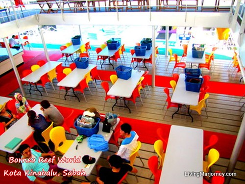 Dining Area, Borneo Reef World