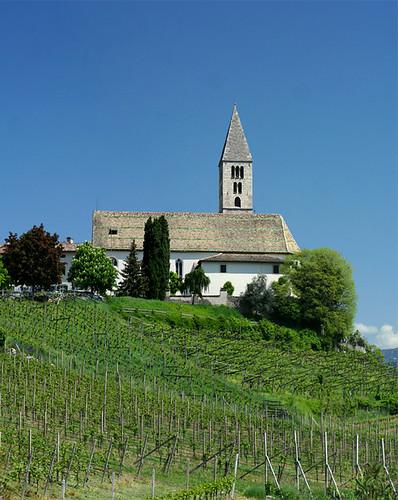 Church at Cortaccia