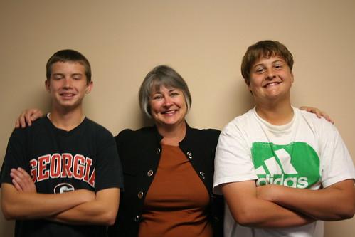 Mason Bird with Family