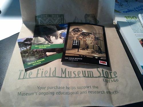 Field museum goodies