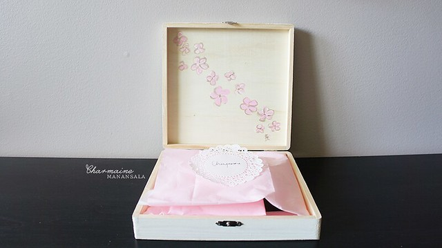 Askin' My Girls - flower girl box