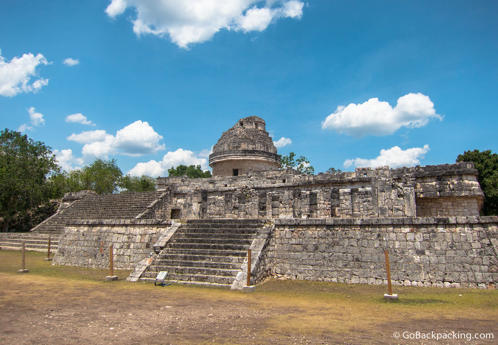 El Caracol (The Snail) is believed to have been used as an observatory for astronomical events