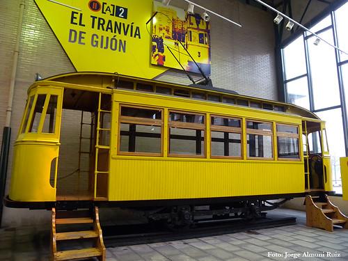 Tranvía de Gijón.