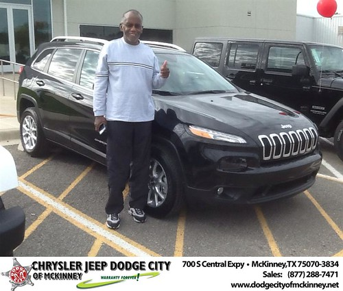 Thank you to Anthony Webb on your new 2014 #Jeep #Cherokee from Joe Ferguson  and everyone at Dodge City of McKinney! #NewCarSmell by Dodge City McKinney Texas
