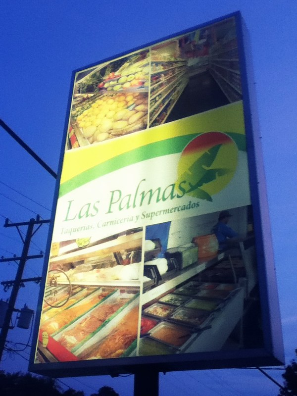 Las Palmas Sign