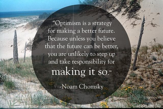 Urban Hermits - Noam Chomsky Quote
