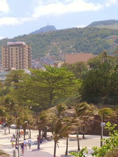 Cristo Redentor as seen from Ipanema