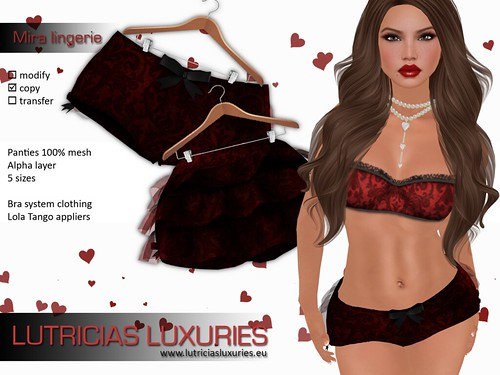 [L] Mira lingerie (Passion) by Lutricia Roux